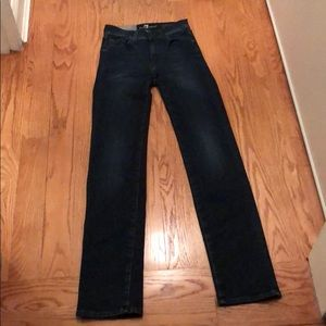 7 for All Mankind Mid rise straight leg
